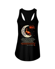 I Love You To The Moon And Back Horse  Ladies Flowy Tank thumbnail