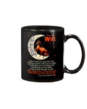 I Love You To The Moon And Back Horse  Mug front