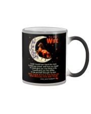 I Love You To The Moon And Back Horse  Color Changing Mug thumbnail