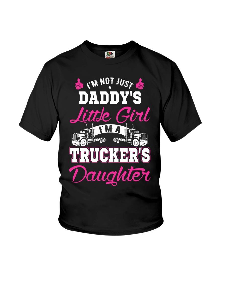 I'm trucker's daughter shirt Youth T-Shirt
