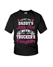 I'm trucker's daughter shirt Youth T-Shirt front