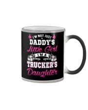 I'm trucker's daughter shirt Color Changing Mug thumbnail