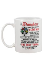 Daughter  I Might Not Be With You The Best Thing Mug back