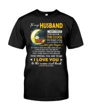 Otter Husband Clock Ability Moon Classic T-Shirt thumbnail