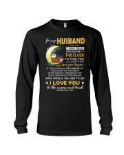 Otter Husband Clock Ability Moon Long Sleeve Tee thumbnail
