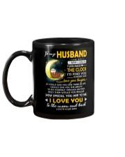 Otter Husband Clock Ability Moon Mug back