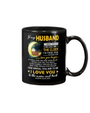 Otter Husband Clock Ability Moon Mug front