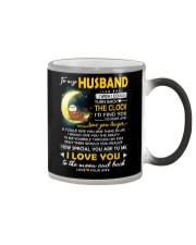 Otter Husband Clock Ability Moon Color Changing Mug thumbnail