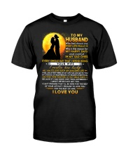 Firefighter Husband Lucky To Live Amazing Life Classic T-Shirt thumbnail