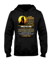 Firefighter Husband Lucky To Live Amazing Life Hooded Sweatshirt thumbnail