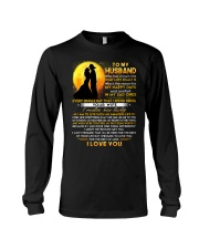Firefighter Husband Lucky To Live Amazing Life Long Sleeve Tee thumbnail