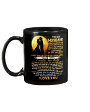 Firefighter Husband Lucky To Live Amazing Life Mug back