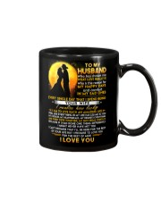 Firefighter Husband Lucky To Live Amazing Life Mug front
