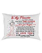 Family Fiancee The Clock The Moon Rectangular Pillowcase front