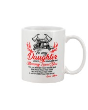 Firefighter Mommy Loves You Daughter Mom Mug front