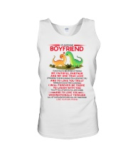 Dinosaur Faithful Partner True Love Boyfriend Unisex Tank thumbnail