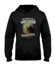 Tough To Be Asshole Girlfriend Wolf  Hooded Sweatshirt thumbnail