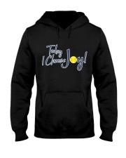 Softball today I choose joy  Hooded Sweatshirt thumbnail