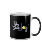 Softball today I choose joy  Color Changing Mug thumbnail