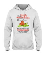 Dinosaur Wife Clock Ability Moon Hooded Sweatshirt thumbnail