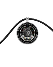 Autism When Life Knock You Down Son Dad  Cord Circle Necklace thumbnail