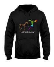 Unicorn Dare To Be Yourself Tshirt Hooded Sweatshirt thumbnail