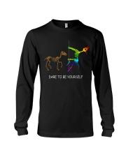 Unicorn Dare To Be Yourself Tshirt Long Sleeve Tee thumbnail