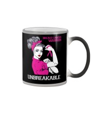 Breast Cancer Warrior Unbreakable Color Changing Mug thumbnail
