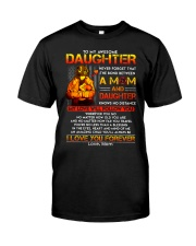 Firefighter The Bond Between Daughter Mom Classic T-Shirt thumbnail