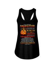 Firefighter The Bond Between Daughter Mom Ladies Flowy Tank thumbnail