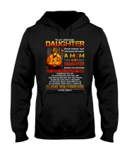 Firefighter The Bond Between Daughter Mom Hooded Sweatshirt thumbnail