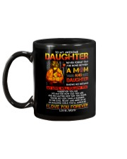 Firefighter The Bond Between Daughter Mom Mug back