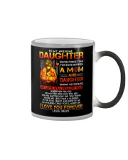 Firefighter The Bond Between Daughter Mom Color Changing Mug thumbnail