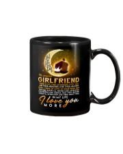 Love You More Beatles Girlfriend Mug front
