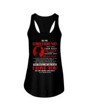 Veteran Girlfriend Clock Ability Moon Ladies Flowy Tank thumbnail