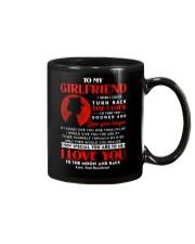 Veteran Girlfriend Clock Ability Moon Mug front