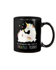 Unicorn Grandma And I Got In Trouble Today Mug thumbnail