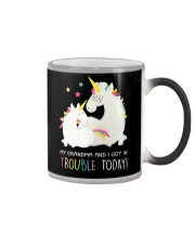 Unicorn Grandma And I Got In Trouble Today Color Changing Mug thumbnail