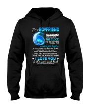 Bird Boyfriend Clock Ability Moon Hooded Sweatshirt thumbnail