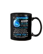 Bird Boyfriend Clock Ability Moon Mug front