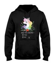Unicorn Are You Drunk  Hooded Sweatshirt thumbnail