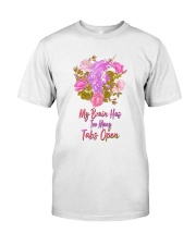 My Brain Has Too Many Tabs Open Unicorn  Classic T-Shirt tile
