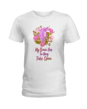 My Brain Has Too Many Tabs Open Unicorn  Ladies T-Shirt tile