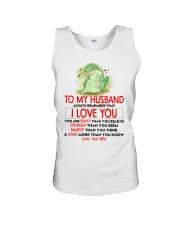Dinosaur Husband I Love You Unisex Tank thumbnail
