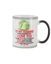 Dinosaur Husband I Love You Color Changing Mug thumbnail