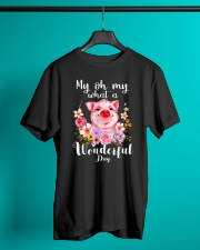 Farmer My oh My wonderful day  Classic T-Shirt lifestyle-mens-crewneck-front-3