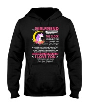 Unicorn Girlfriend Clock Ability Moon Hooded Sweatshirt thumbnail