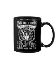 Never Take Kindness For Weakness Viking Mug thumbnail