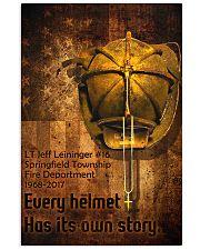 Firefighter Helmet Poster 11x17 Poster front
