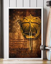 Firefighter Helmet Poster 11x17 Poster lifestyle-poster-4